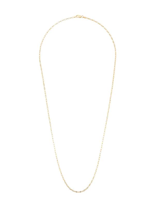 Rachel Jackson Mid-length Box Chain In Gold