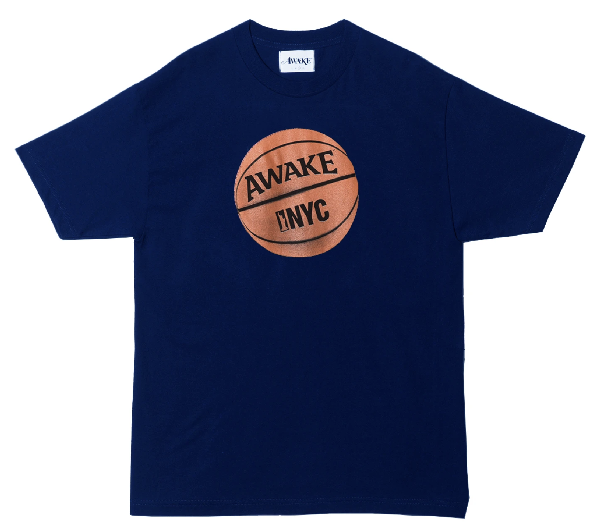 Awake Hoop Tee Navy