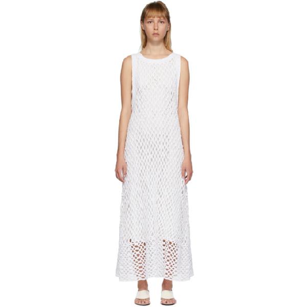 The Row White Atis Dress In Wht White