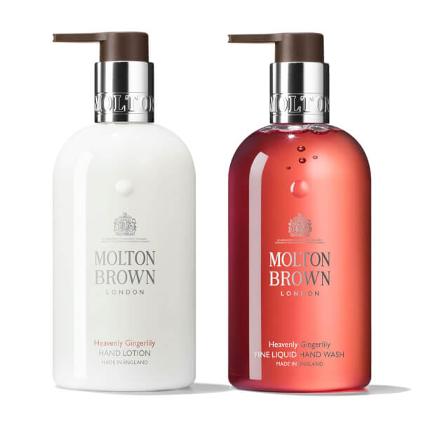 Molton Brown Gingerlily Hand Wash And Lotion Bundle