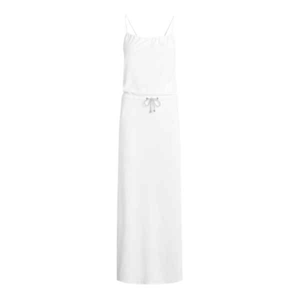 Ralph Lauren Terry Maxidress In White