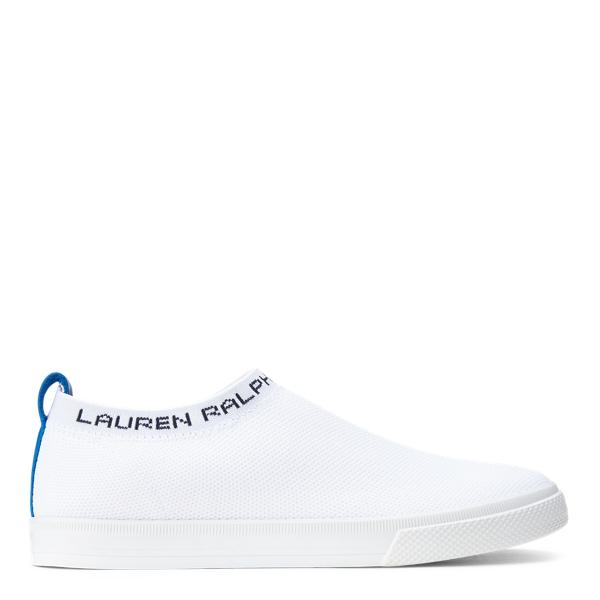 Lauren Ralph Lauren Jordyn Slip-on Sneaker In Optic White