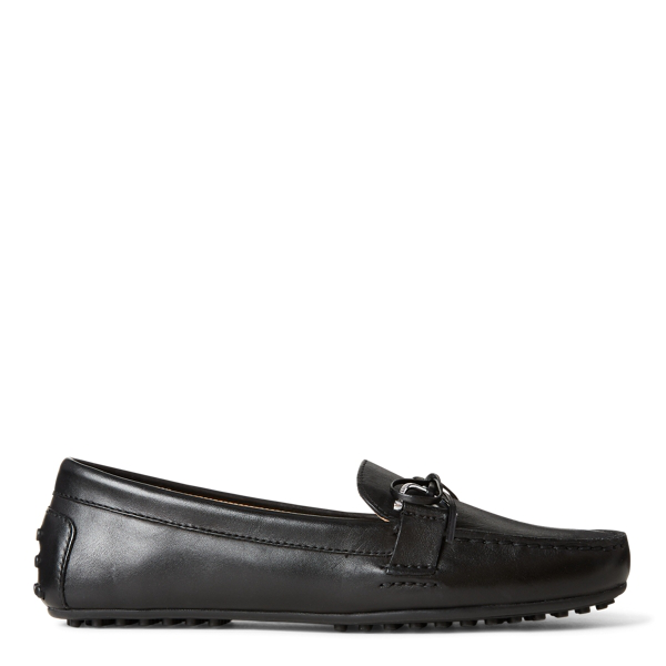 Lauren Ralph Lauren Briley Leather Loafer In Black