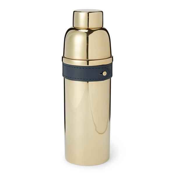 Ralph Lauren Wyatt Cocktail Shaker In Navy / Gold