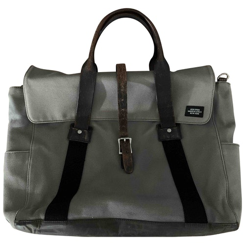 Jack Spade Grey Cloth Bag