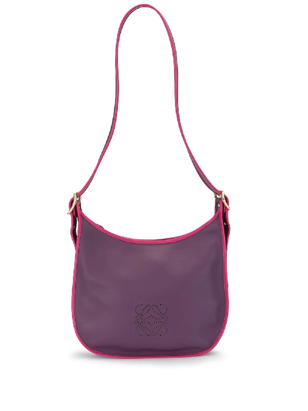 Loewe Sophia Shoulder Bag In Purple