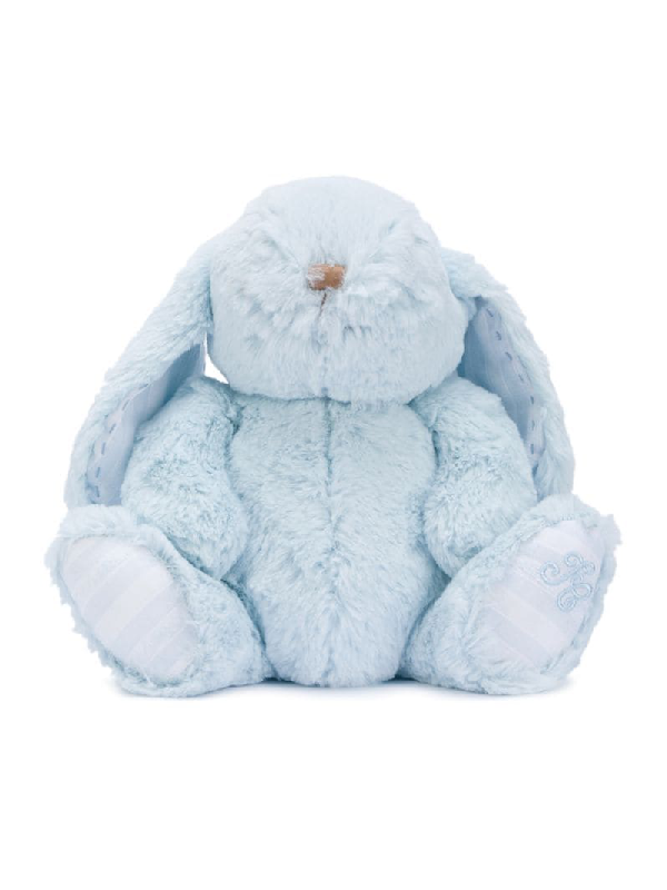 Tartine Et Chocolat Musical Bunny Soft Toy In Blue