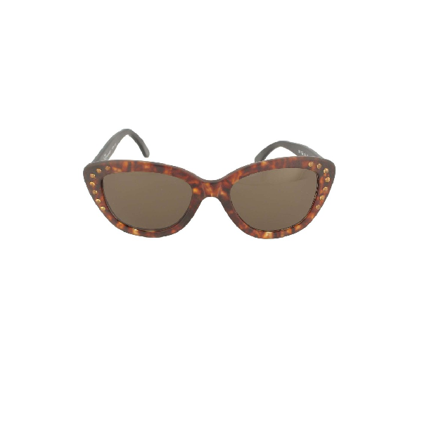 Blumarine Vintage Sunglasses 529 In Brown