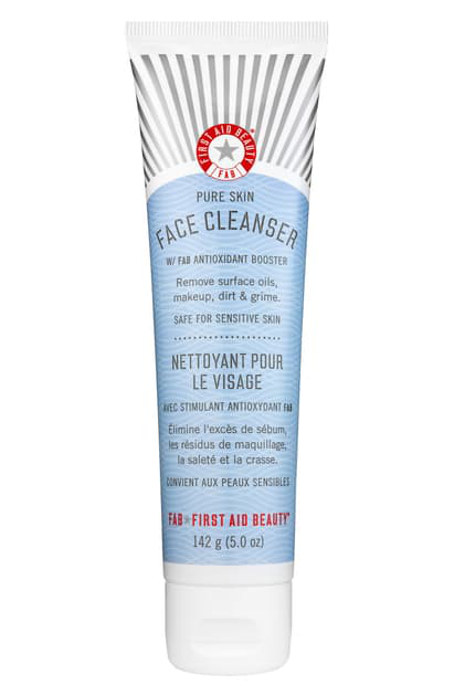 First Aid Beauty Pure Skin Face Cleanser, 2 oz