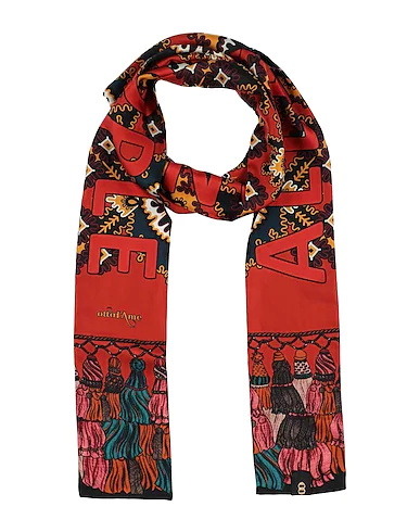 Ottod'ame Scarves In Brick Red