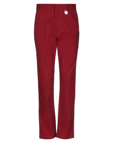 Xander Zhou Casual Pants In Red