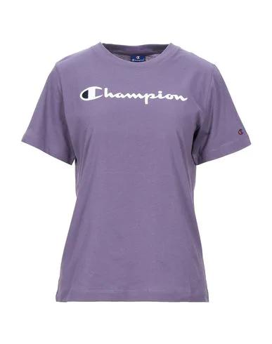 Champion T-shirt In Mauve