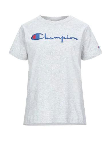 Champion T-shirt In Light Grey