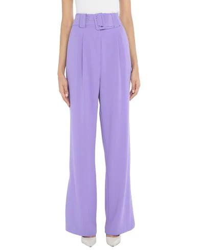 Hofmann Copenhagen Casual Pants In Purple
