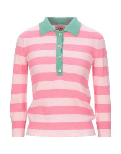 Jumper 1234 Cashmere Blend In Light Pink