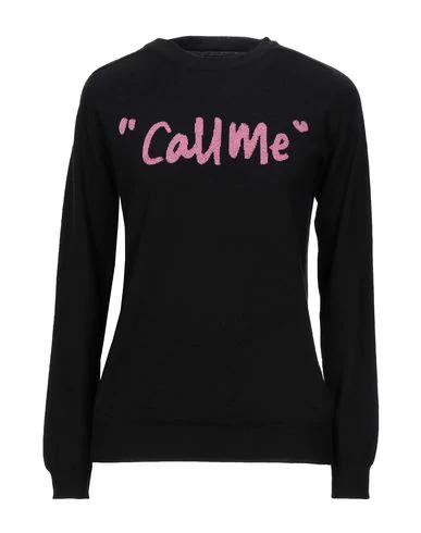 Sibling Sweater In Black