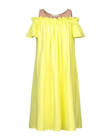 Neul Knee-length Dress In Yellow