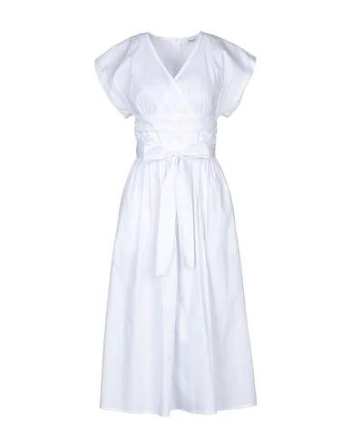 Hopper Short Dress In White