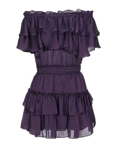 Misa Short Dress In Purple
