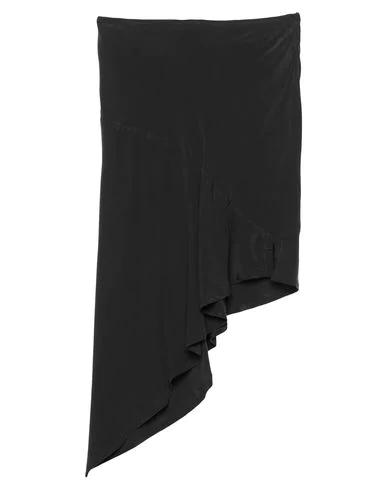 Romeo Gigli Knee Length Skirt In Black