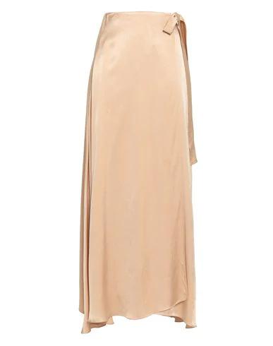 Les HÉroÏnes By Vanessa Cocchiaro Maxi Skirts In Pale Pink