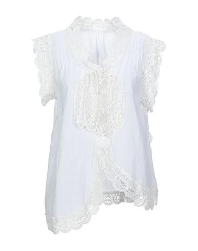 Tsumori Chisato Lace Shirts & Blouses In White