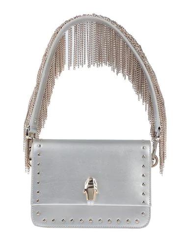 Cavalli Class Handbag In Silver