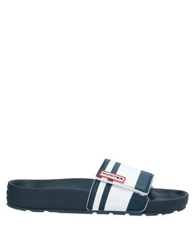 Hunter Sandals In Dark Blue