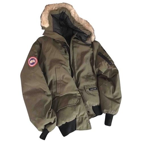 Canada Goose Khaki Coat