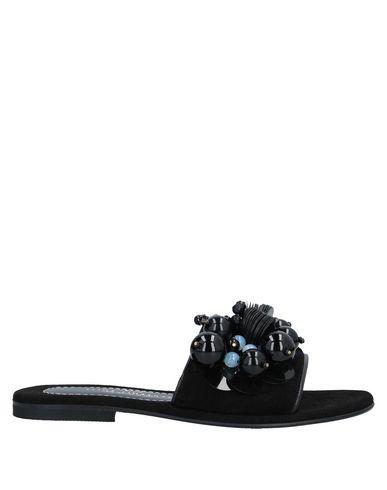 Elina Linardaki Sandals In Black