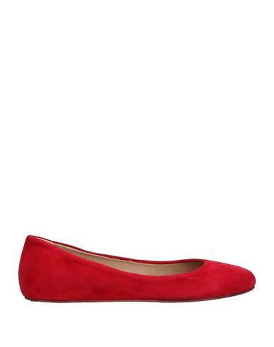 Le Ruemarcel Ballet Flats In Red