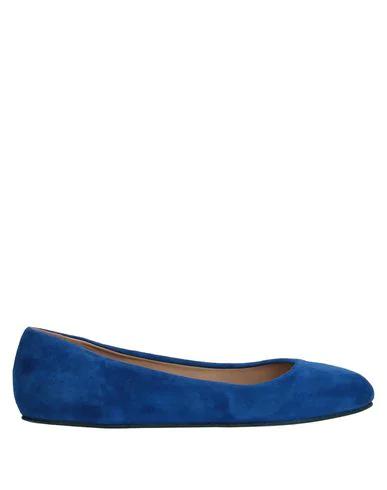 Le Ruemarcel Ballet Flats In Blue