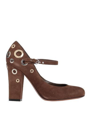 Moschino Cheap And Chic Pump In Brown