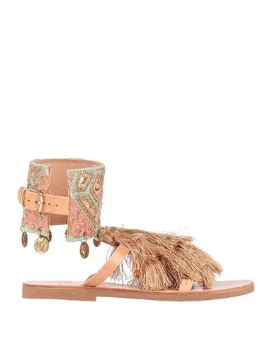 Mabu By Maria Bk Flip Flops In Camel