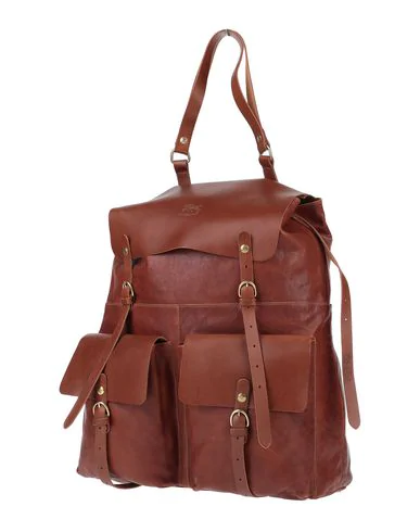 Il Bisonte Backpack & Fanny Pack In Tan