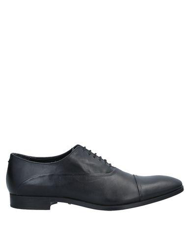 Emporio Armani Laced Shoes In Black