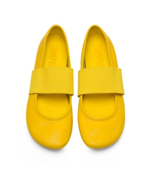 Camper Women's Right Nina Mary Jane Women's Shoes In Yellow
