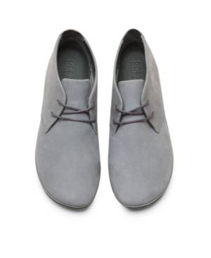 Camper Women's Right Nina Lace Up Bootie Women's Shoes In Grey