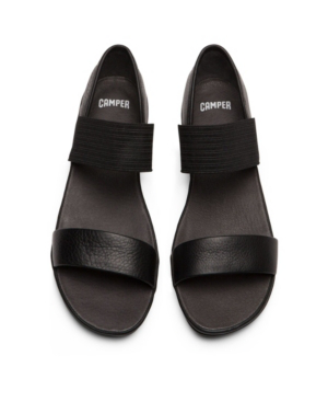 Camper Women's Right Nina Strap Women's Shoes In Black