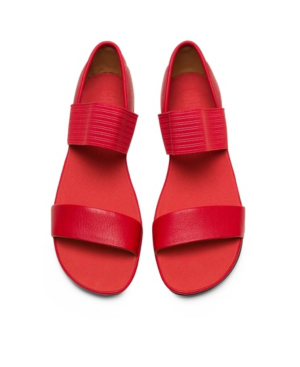 Camper Women's Right Nina Strap Women's Shoes In Red