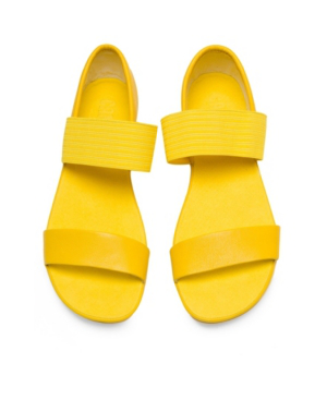 Camper Women's Right Nina Strap Women's Shoes In Yellow
