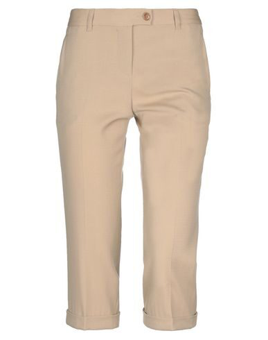 Moschino Cheap And Chic Cropped Pants & Culottes In Beige