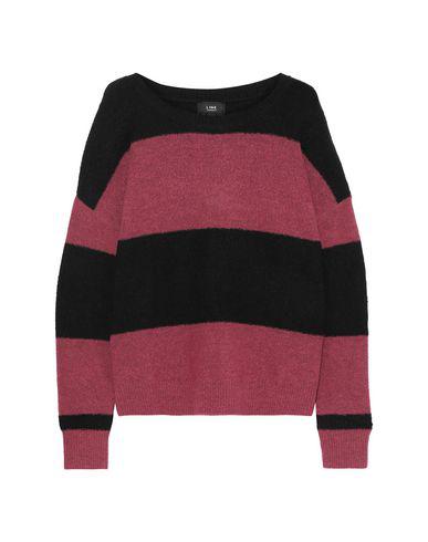 Line Sweater In Garnet