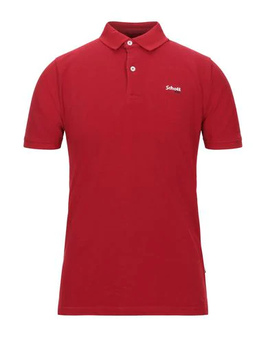 Schott Polo Shirt In Red