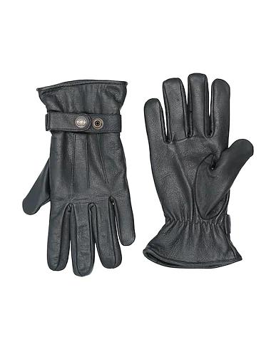 Schott Gloves In Black