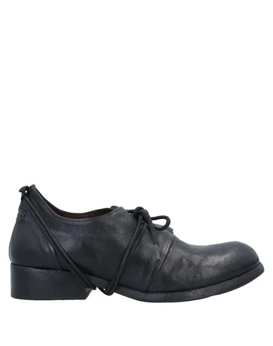 Le Ruemarcel Laced Shoes In Black