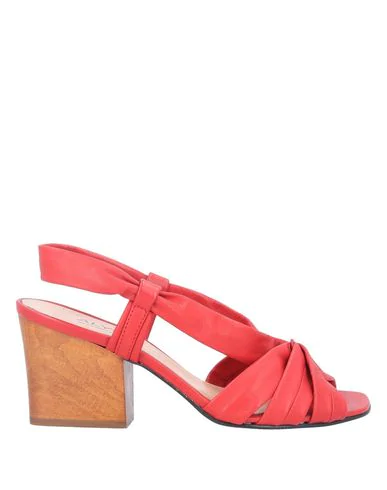 Alysi Sandals In Red