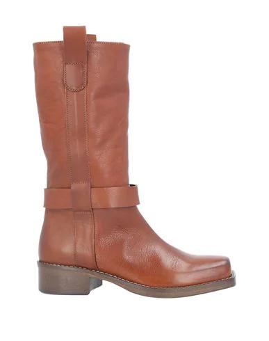 Alysi Boots In Tan