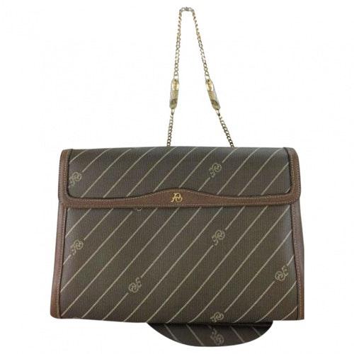 Pierre Balmain Brown Leather Handbag