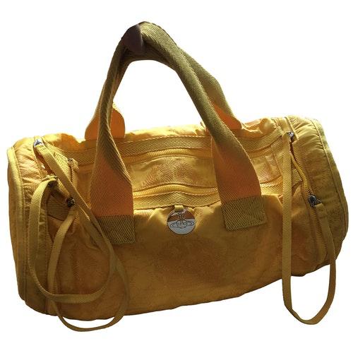 Vivienne Westwood Yellow Cloth Bag